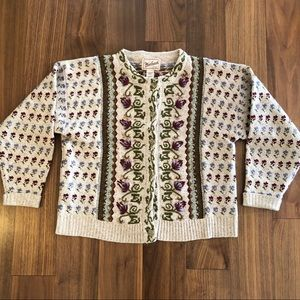 Woolrich Embroidered Cardigan